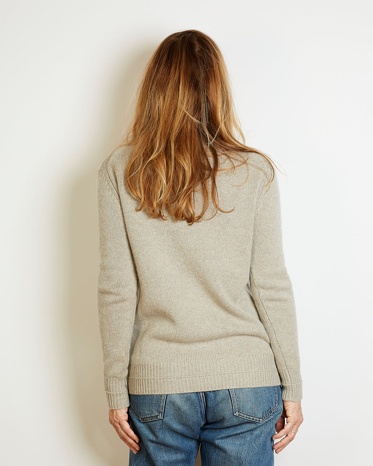 cardigan cachemire therese beige