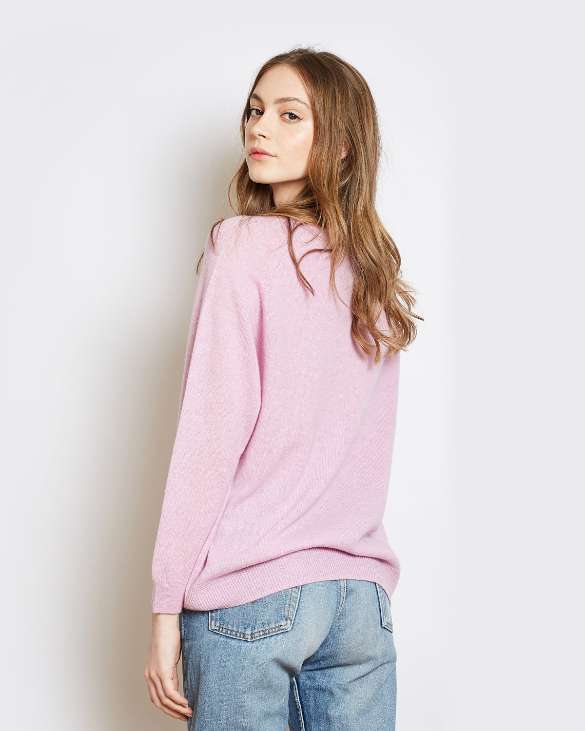 pull cachemire superlight catherine mauve
