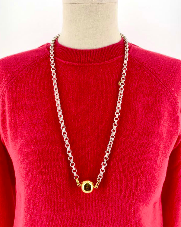 collier timeless pearly