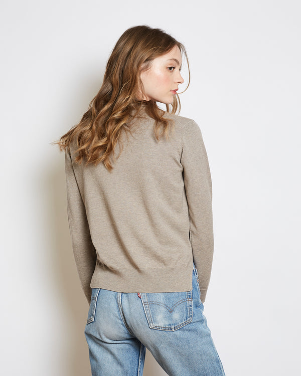 organic cotton sweater francoise grege