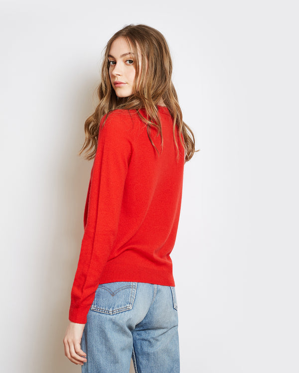 cashmere superlight mila red