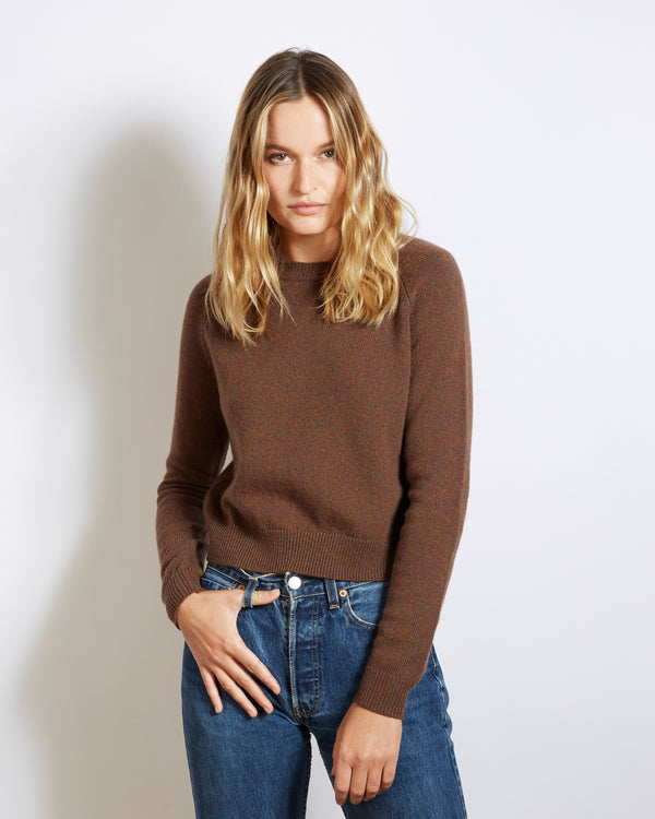 pull cachemire mini mila brown
