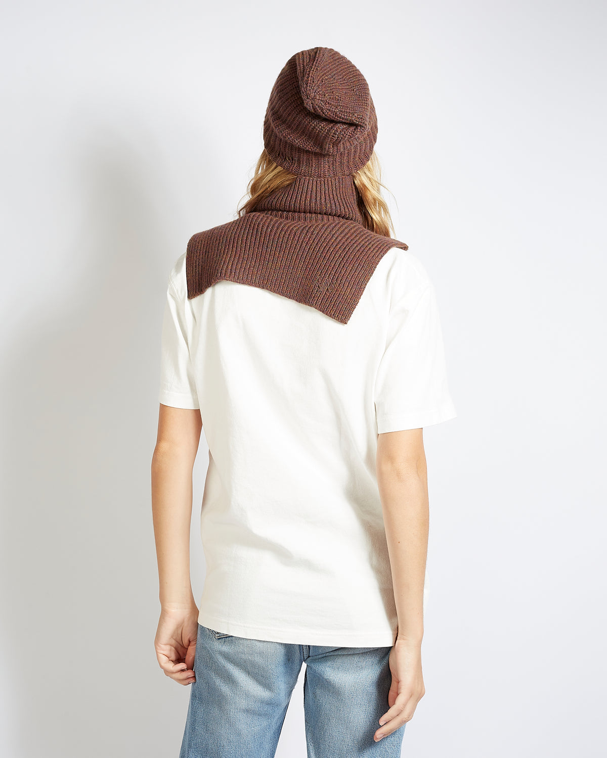 bonnet cachemire brown