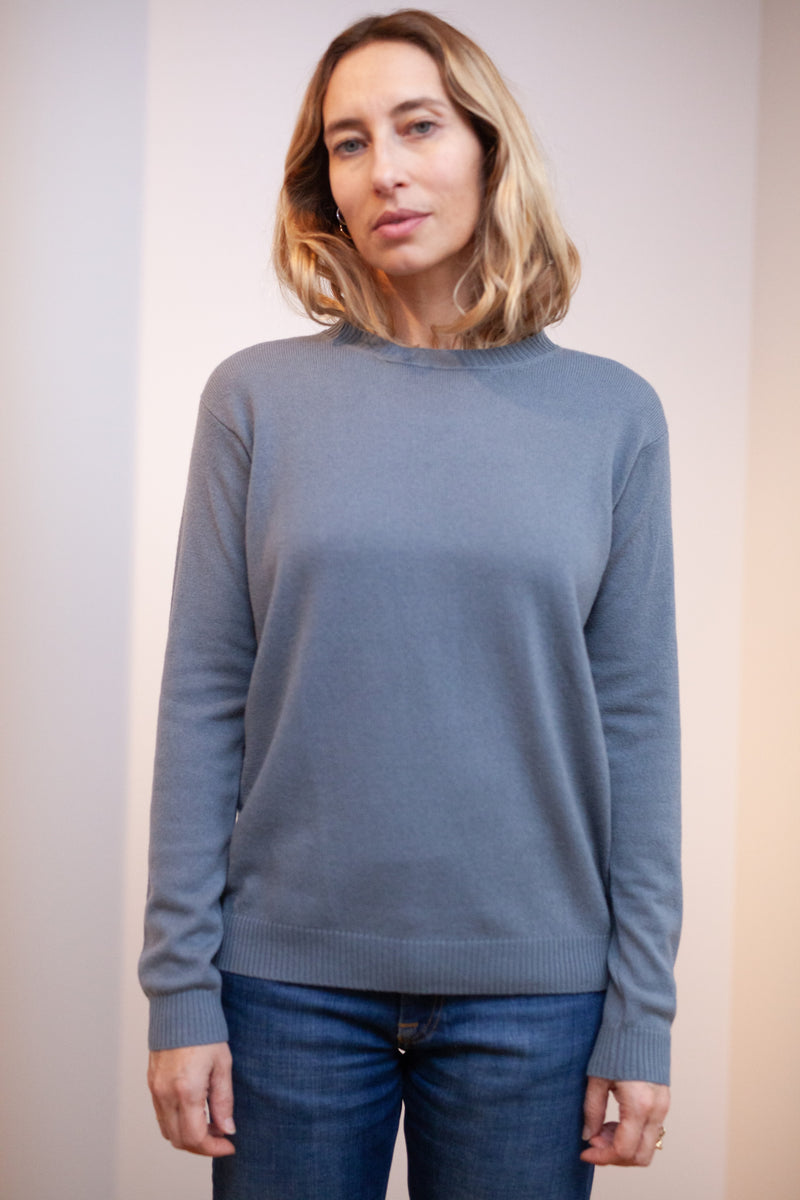 pull cachemire light virgile gris bleu