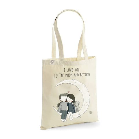 Love You to the Moon and Beyond Tote Bag