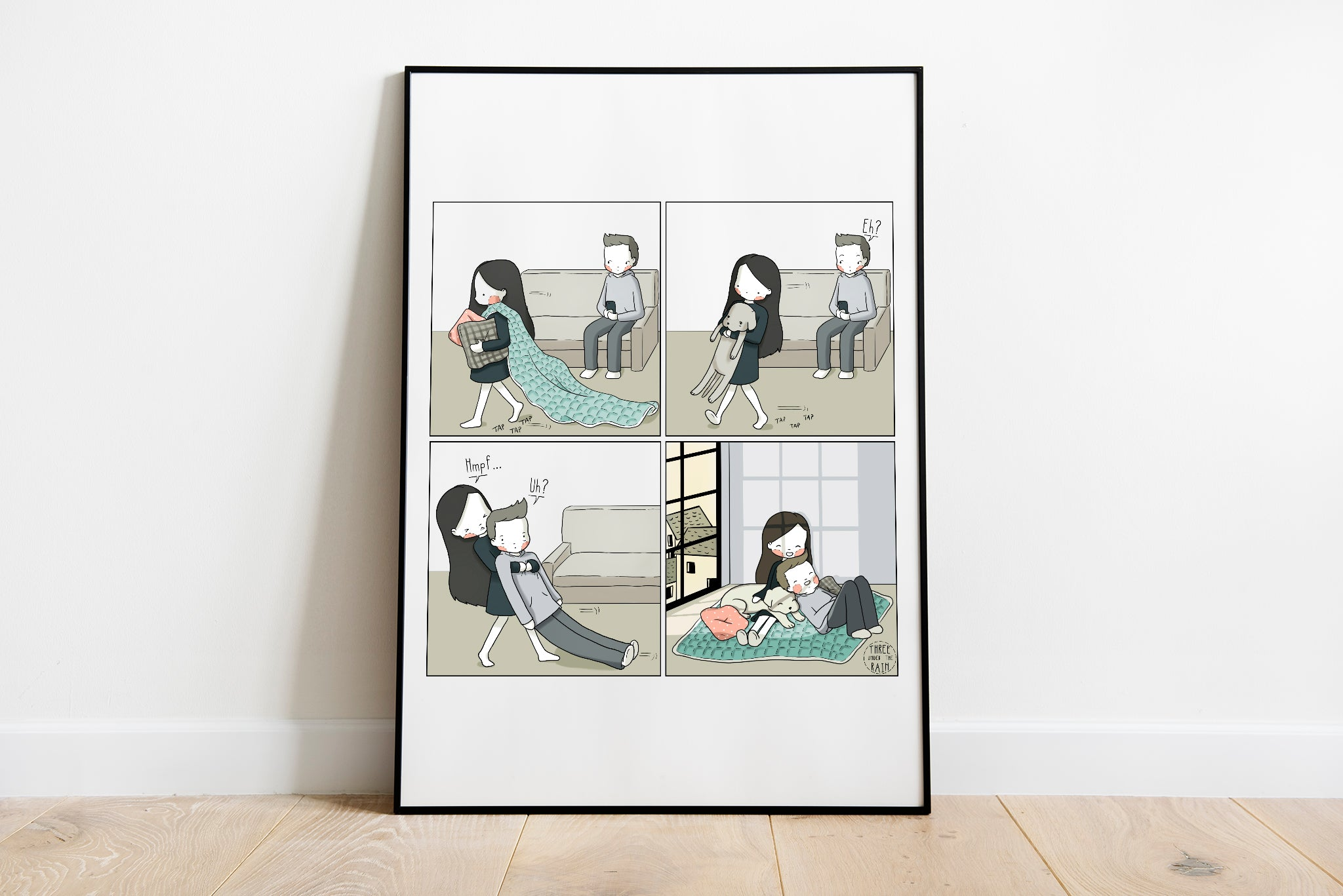 Lazy Sunny Afternoon Artwork Print