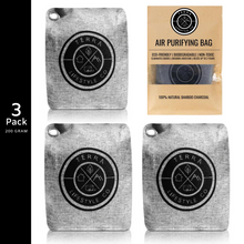 Load image into Gallery viewer, Activated Charcoal Air Purifying Charcoal Bag