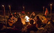 Load image into Gallery viewer, Beach Retreat Beach Bonfire With Couches