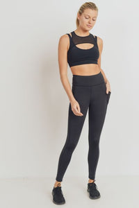 Terra Lifestyle Co - Recycled Polyester Leggings | Yoga Pants | Highwaist | Side & Back Pockets