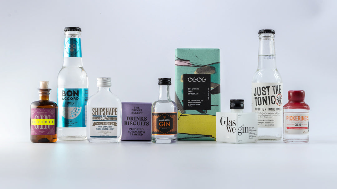 Thriving Box Co. Miniature Gin Gift Box - Limited Edition