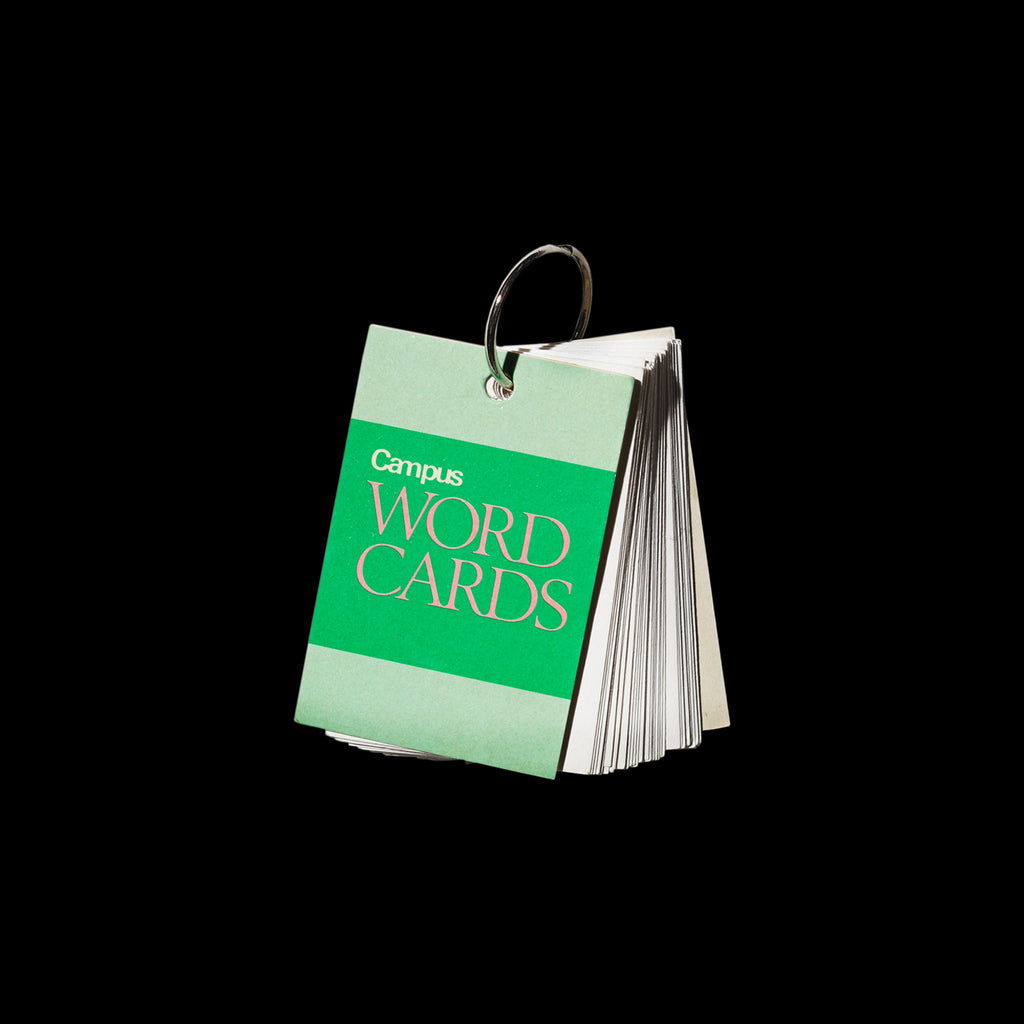 CAMPUS WORD CARDS