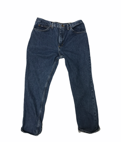 Lee  Pipes & Riveted Denim Size 36