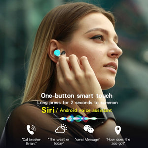 i12 TWS Wireless Bluetooth Earphones