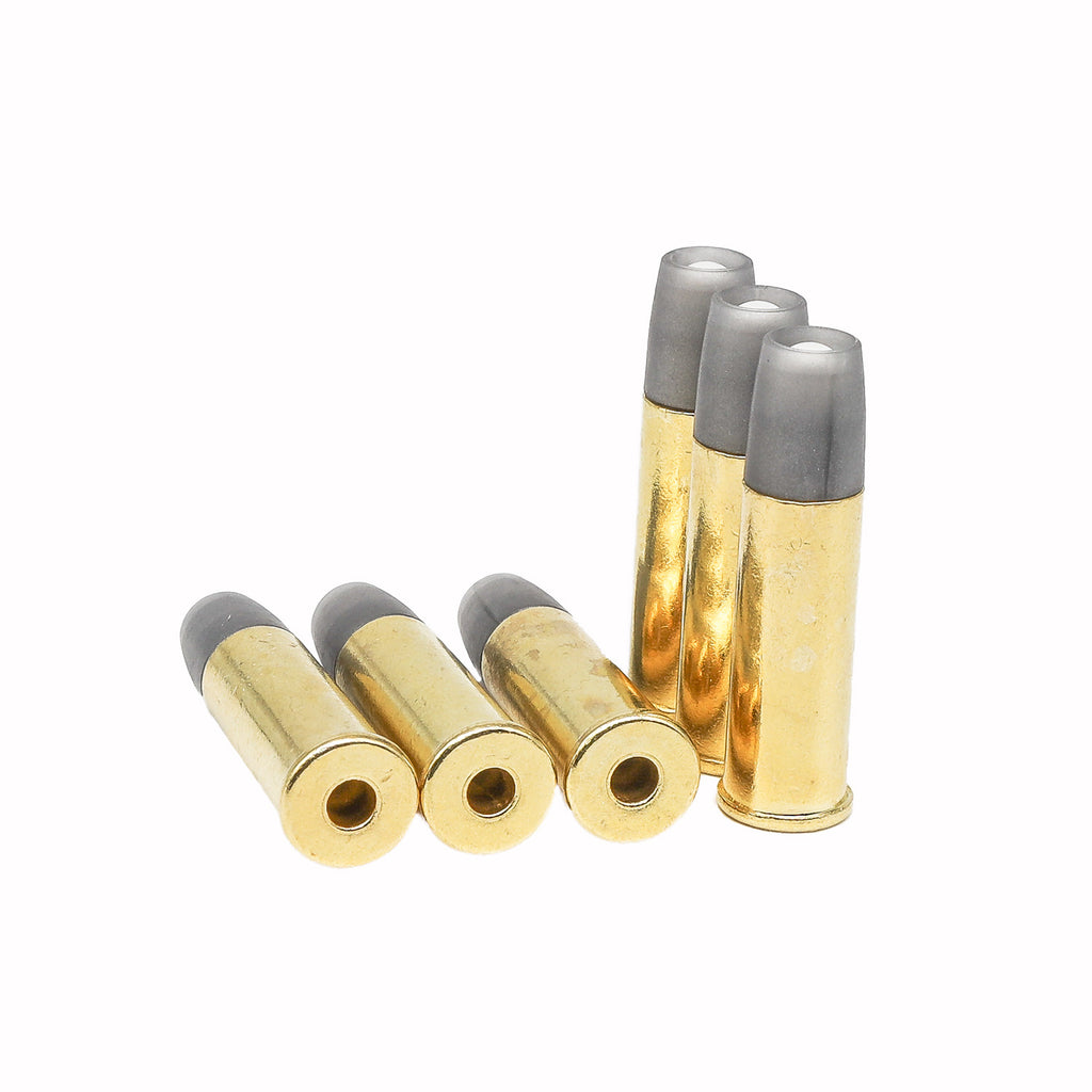 Airsoft Cartridges for Barra Airguns Schofield No.3 Revolver - Pack of 6 Shells for Standard 6MM Airsoft BB's
