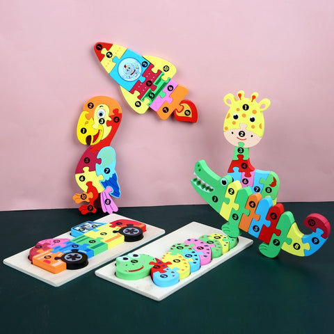 Little  Children Puzzle Toys