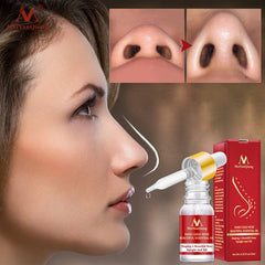MeiYanQiong Nose Lifting Up Essence Oil Tightening Beauty Nose Care Massage Reduce Narrow Thin Nose Beauty Tool