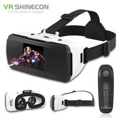 Original VR Shinecon Pro Virtual Reality 3D Googles Glasses VR Google Cardboard Headset Glasses Virtual for 4-6.0 Inch Phone