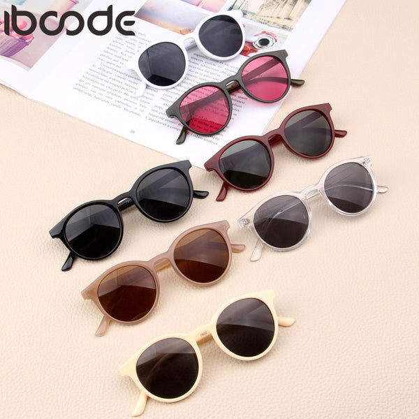 iboode New Kids Sunglasses Boys Girls Baby Infant Fashion Sun Glasses UV400 Eyewear Child Shades Gift UV400 Oculos Gafas De Sol