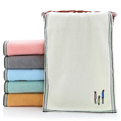 Face Towel Washcloth Bathroom Supplies Quick-dry Couple Family Gift Toilet Eco-friendly Home Cleaning Household Hand Soft Cotton