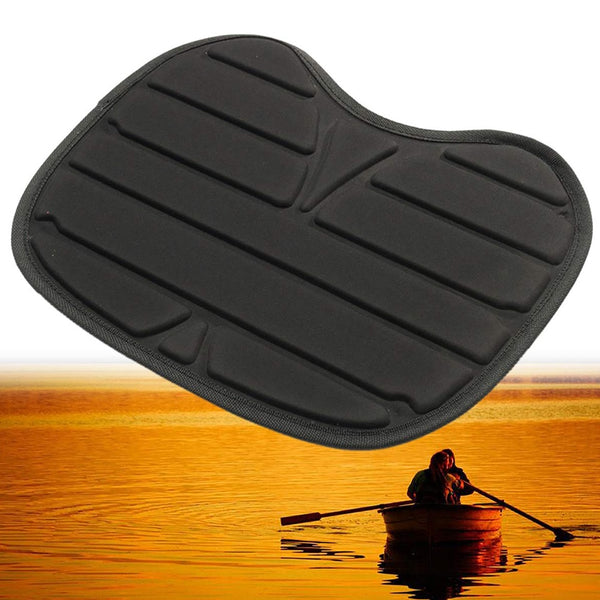 Pillow Fishing Cushion Black Boat Padded Accessories Base Durable Outdoor Antiskid Detachable Universal Kayak Seat Waterproof