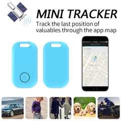 Mini GPS Tracker Anti-Lost Theft Device Alarm Bluetooth Tracker Child Pet Bag Wallet Key Finder Phone Box Search Finder