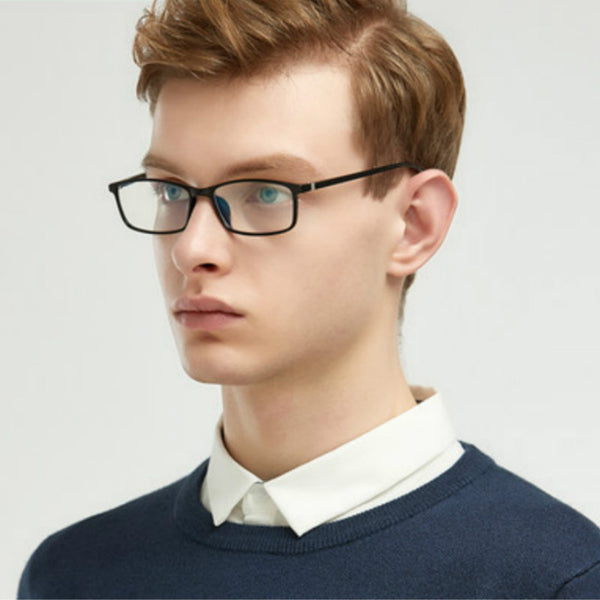 Men Blue Film Radiation protection Glasses Frames Optica Spectacle Square Glasses Frame  Women Anti Blue Light Eyeglasses