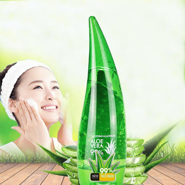 99% Aloe Soothing Gel Aloe Vera Gel Face Skin Care Cream Remove Acne Moisturizing Hydrating Day Cream Sunscreen Aloe Gel 120ml