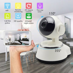 DIDIHOU 720P Baby Monitor IP Camera Wifi Wireless Auto Tracking Night Vision Home Security Surveillance CCTV Network Camera
