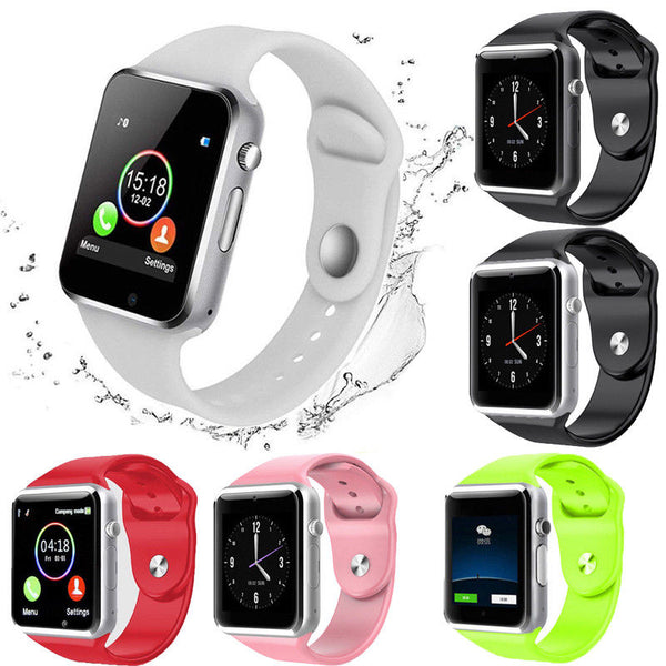 Bluetooth Smart Wrist Watch A1 GSM Phone For Android Samsung iPhone Man Women  watch mens watches top brand luxury