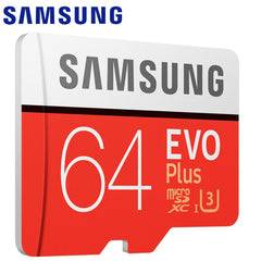 SAMSUNG EVO Plus+ Memory Card Micro SD 128GB 32GB 64GB 256GB 512GB Micro SD Card SD/TF Flash Card microSD carte for Phone Go Pro