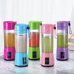 Portable Juice Extractor Household Multi-functional Juicer Cup Electric Mini Two Leaf Juice Cup Wholesale Food Mixer