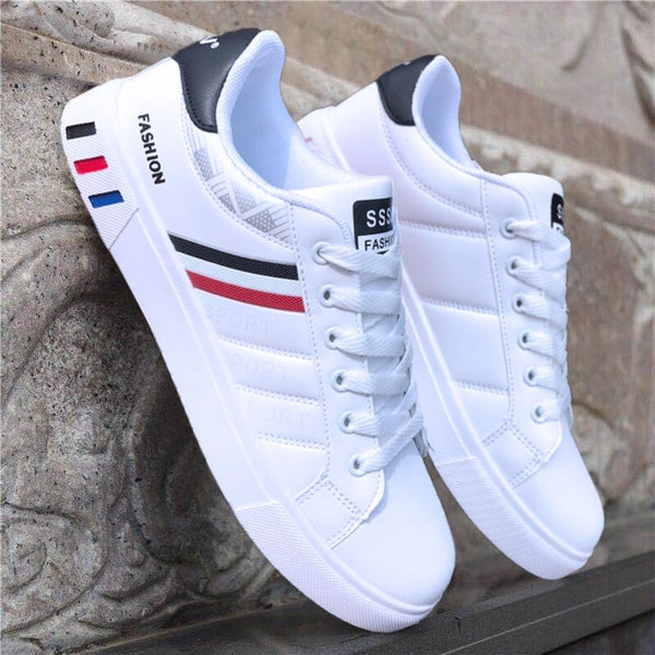 NAUSK 2019 Spring White Shoes Men Shoes Men's Casual Shoes Fashion Sneakers Street Cool Man Footwear Zapatos De Hombre