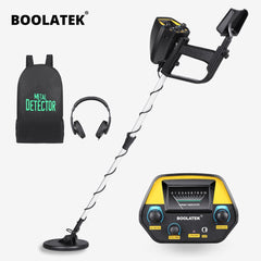 BOOLATEK Underground Metal Detector MD4030 All Metal Gold Finder Detector Treasure Hunter