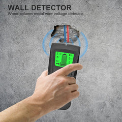 3 in 1 Portable Wall Stud Sensor Professional Wire Cable Tracker Metal Pipe Locator Detector Tester Line Tracker