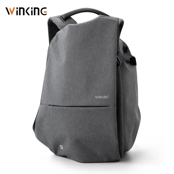 Kingsons WK latest fashion multi-function business computer mobile phone USB charging travel waterproof anti-theft backpack