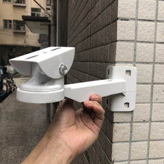 CCTV Surveillance Security IP Camera Accessories Aluminum Camera Bracket Suit For Mount Camera to Right Angle Outer Corner Wall