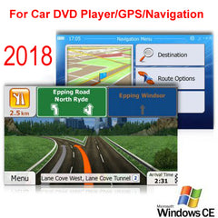 8GB Micro SD Card Car GPS Navigation 2018 Map software for Australia,New Zealand,Middle East,Southeast Asia,Israel,Philippines