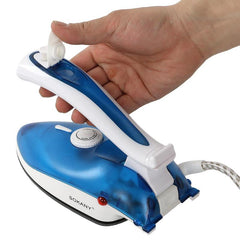 SOKANY Mini 5 Speed Steam Iron Press Type Handheld Iron Steamer Garment Clothes Steam Irons For Home Travelling