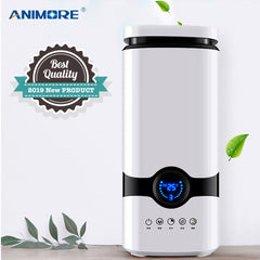 ANIMORE Humidifier Essential Oil Aroma Diffuser Top Fill 4L Cool Mist Ultrasonic Air Humidifier With Intelligent Remote Control