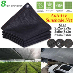 HDPE Anti-UV Sunshade Net Outdoor Garden Sunscreen Cloth Car Sunblock Shade Cover Plant Greenhouse Cover  85% Shading Rate