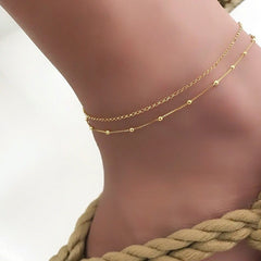 Trendy Jewelry Female Anklets Barefoot Crochet Sandals Foot Jewelry Leg New Anklets On Foot Ankle Bracelets For Women Leg Chain