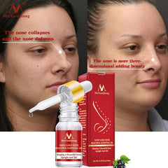 Nose Lifting Up Oil Tightening Beauty Nose Care Massage Reduce Narrow Thin Nose Beauty Toolnose Oil Moisture Nose Care