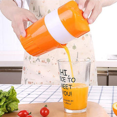 ALLOET 300ml Portable Manual Juicer Cup For Citrus Orange Lemon Fruit Squeezer 100% Original Juice Child Healthy Juicer Machine