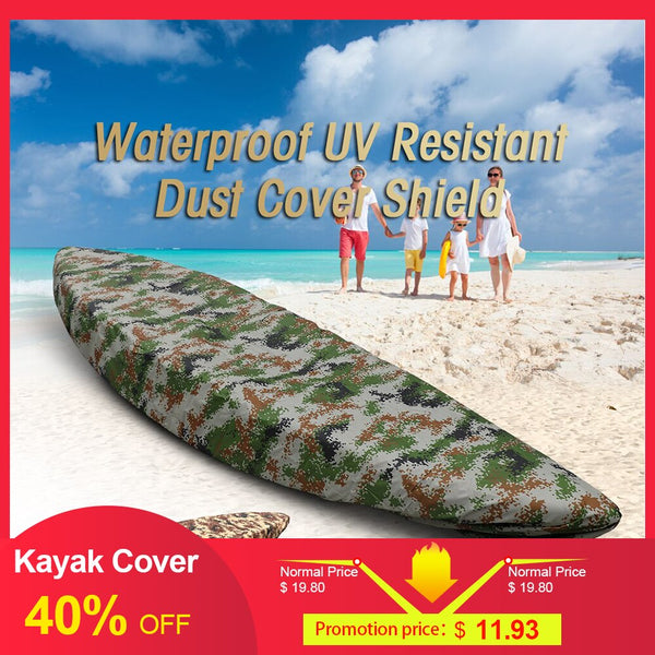 Professional Kayak Cover Canoe Waterproof Kayak Boat Canoe Storage Transport Dust Cover Inflatable Kayak Boat Cover Shield