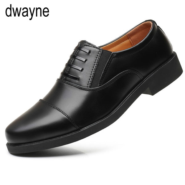 Classic Business Men's Dress Shoes Fashion Elegant Formal Wedding Shoes Men Slip On Office Oxford Shoes For Men Black tyh6