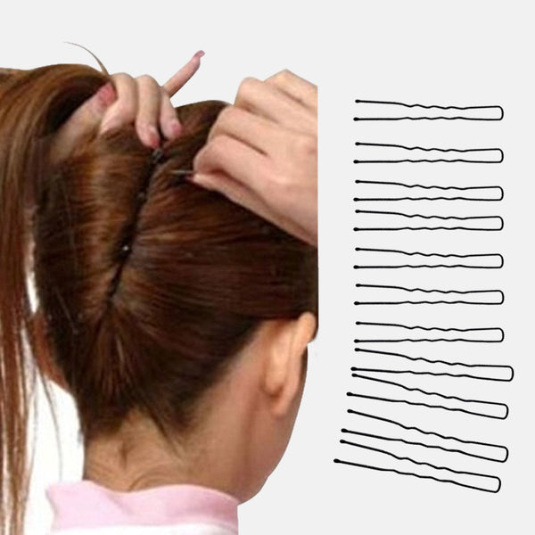 20pcs DIY Handmade Jewelry Accessories Material 6cm Iron clevis hair care styling tool hairclips hairpins