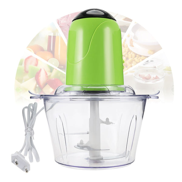 2L Electric Kitchen Chopper Meat Grinder Shredder Food Chopper Stainless Steel Electric Household Processor Kitchen Tool Cocina