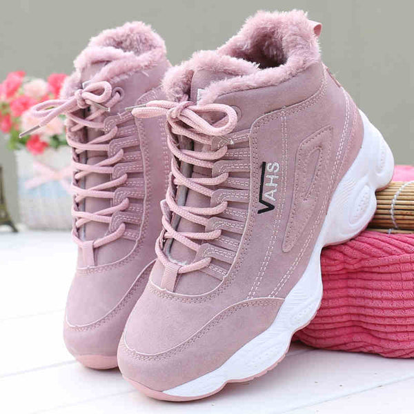 Casual Shoes Women's Winter Brand Vulcanize Shoes for Women Keep Warm Comfortable Outdoor Sneaker Zapatillas Mujer Leisure Shoe