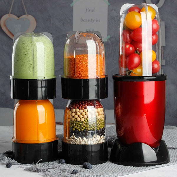 220V Multifunctional Electric Juicer Mini Household Automatic Blender Juicer Machine High Quality Mini Juicer EU/AU/UK/US Plug