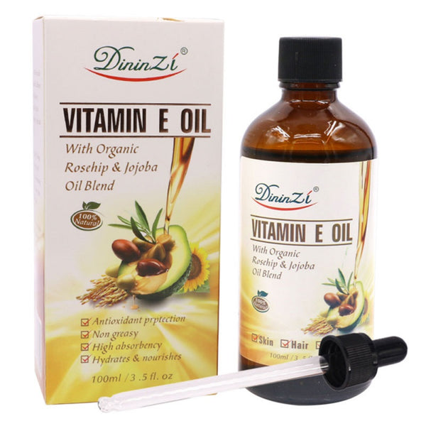 100% Pure Natural VE Oil Massage Spa Avocado Essential Oil Cold Pressed Moisturiser Castor Oil Hydrating Hair Care P1